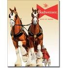 Desperate Enterprises . DPE Budweiser King Of Beers - Rectangular Tin Sign