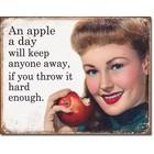 Desperate Enterprises . DPE An Apple A Day Sign
