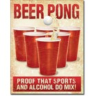 Desperate Enterprises . DPE Beer Pong Sign