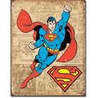 Desperate Enterprises . DPE Superman - Rectangular Tin Sign