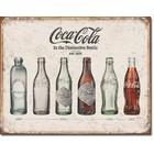 Desperate Enterprises . DPE Coca-Cola in the Distinctive Bottle - Rectangular Tin Sign
