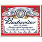Desperate Enterprises . DPE Budweiser King of Beers Sign