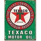 Desperate Enterprises . DPE Texaco Motor Oil, The Texas Company U.S.A. Petroleum Products - Rectangular Tin Sign