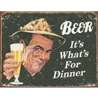 Desperate Enterprises . DPE Beer For Dinner Sign