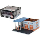 Green Light Collectibles . GNL 1/64 Vintage Gas Station Gulf