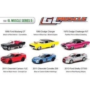 Green Light Collectibles . GNL 1/64 MUSCLE SERIES 5