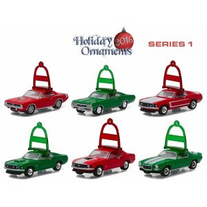 Green Light Collectibles . GNL 1/64 HOLIDAY ORNAMENTS SER 1
