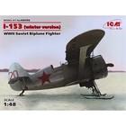 Icm . ICM 1/48 I-153 WWII BIPLANE