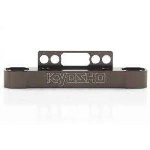 Kyosho . KYO HRD REAR LOWER SUS HLDR R/GUNMETAL
