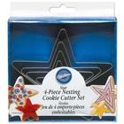 Wilton Products . WIL Nesting Metal Cooke Cutters - Star