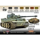 Life Color Paint . LFC GER WWII TK #2 CAMOUF ACRY SET