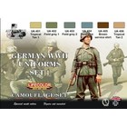 Life Color Paint . LFC German WWII Uniforms #1 Camouflage Acrylic Set