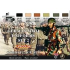 Life Color Paint . LFC German WWII Uniforms #2 Camouflage Acrylic Set