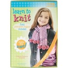 Leasure Arts . LRT LEARN TO KNIT SCARF