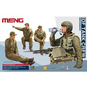 Meng . MEG 1/35 IDF Tank Crew