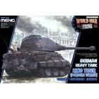 Meng . MEG King Tiger Porsche Turret Toon Tank