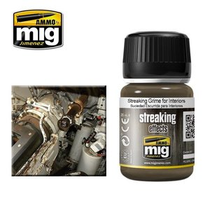 Ammo of MIG . MGA Streaking Grime For Interiors