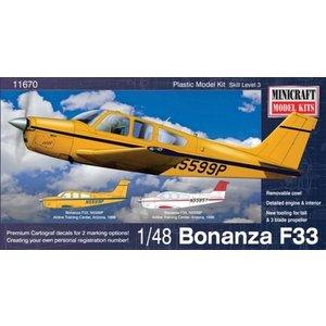 Minicraft Models . MMI 1/48 Beechcraft Bonanza F-33