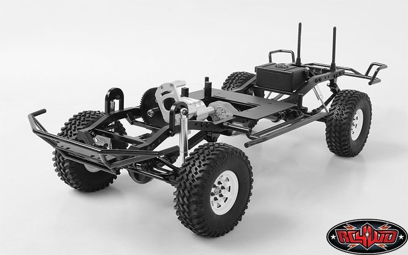 Rc 4wd Rc4 Rc4wd Tf2 Lwb 1 10 Scale Chassis Kit Pm Hobbycraft