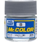 Gunze . GNZ Mr. Color 8-Silver Metallic/Primary