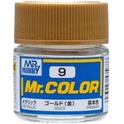 Gunze . GNZ Mr. Color 9-Gold Metallic/Primary