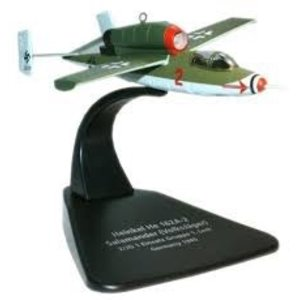 Oxford Diecast . OXF 1/72 HE 162A-2 VOLKSJAGER