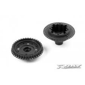 X Ray . XRY COMP GEAR DIFF CASE & COVER