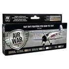 Vallejo Paints . VLJ RAF & FAA DAY FIGHTERS PAINT SET