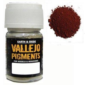 Vallejo Paints . VLJ BURNT SIENNA PIGMENT 30ML