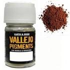 Vallejo Paints . VLJ DARK RED OCRE PIGMENT 30ML