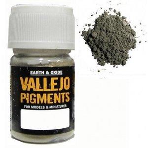Vallejo Paints . VLJ LIGHT SLATE GREEN PIGMENT 30ML