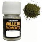 Vallejo Paints . VLJ CHROM OXIDE GREEN PIGMENT 30ML
