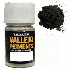 Vallejo Paints . VLJ DARK SLATE GREEN PIGMENT 30ML