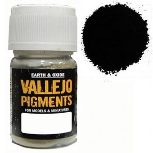 Vallejo Paints . VLJ NATURAL IRON OXID PIGMENT 30ML