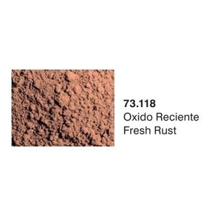 Vallejo Paints . VLJ FRESH RUST PIGMENT 30ML