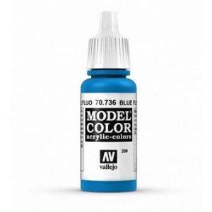 Vallejo Paints . VLJ FLOURESCENT - BLUE