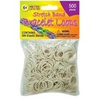 Pepperell . PEP SILICONE LOOPS WHITE