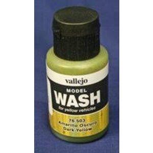 Vallejo Paints . VLJ Dk. Yellow Wash