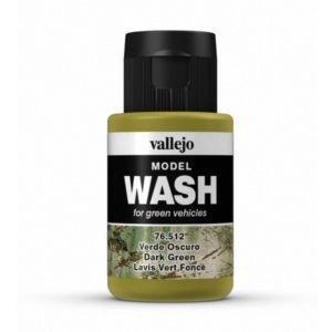 Vallejo Paints . VLJ DK. GREEN   WASH