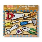 Melissa & Doug . M&D Tools Chunky Puzzle