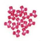 Darice . DAR Tri Beads - Christmas Red