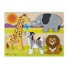 Melissa & Doug . M&D Chunky Puzzle - Safari