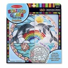 Melissa & Doug . M&D Stained Glass - Dolphins