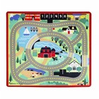 Melissa & Doug . M&D Round The Town Road Rug
