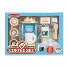 Melissa & Doug . M&D Wooden Brew And Serve Coffee Set