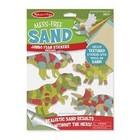 Melissa & Doug . M&D Mess Free Jumbo Sand Stickers - Dinosaur