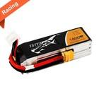 TATTU . TTU Tattu - 141 - 1800mAh 4S1P 14.8V 75C LiPo XT60 Plug Soft Case Racing Series 105x35x30mm