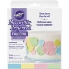 Wilton Products . WIL Decorator Preferred Fondant 4.4oz 4/Pkg Pastel