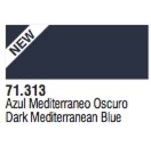 Vallejo Paints . VLJ Dark Mediterranean Blue