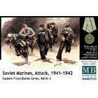Masterbox Models . MTB 1/35 Soviet Marines Attack Eastern Front 1941-42 (5)